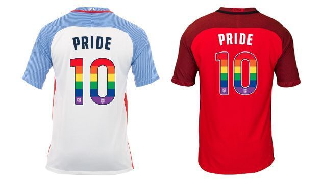 1d9e9e78 U.S. national teams to wear rainbow numbers on shirts in June friendlies