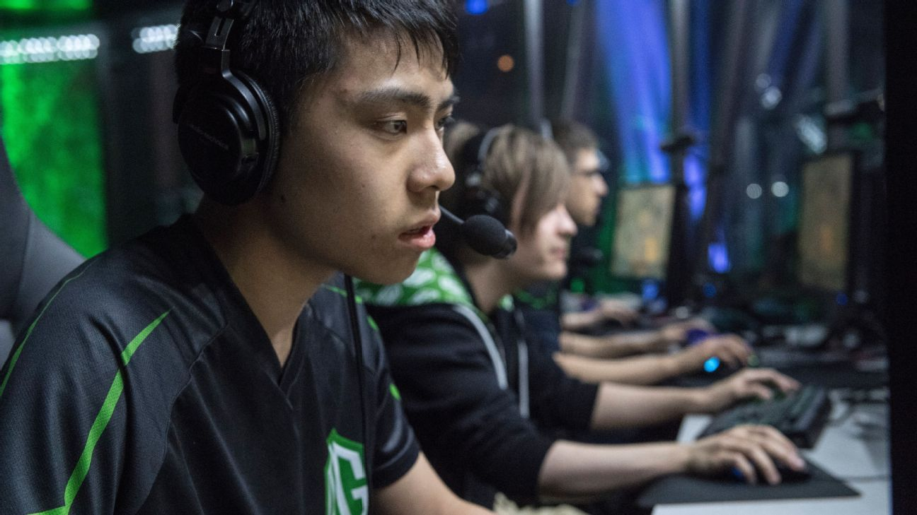 Dota 2 - There's no slowing down for Team OG's ana