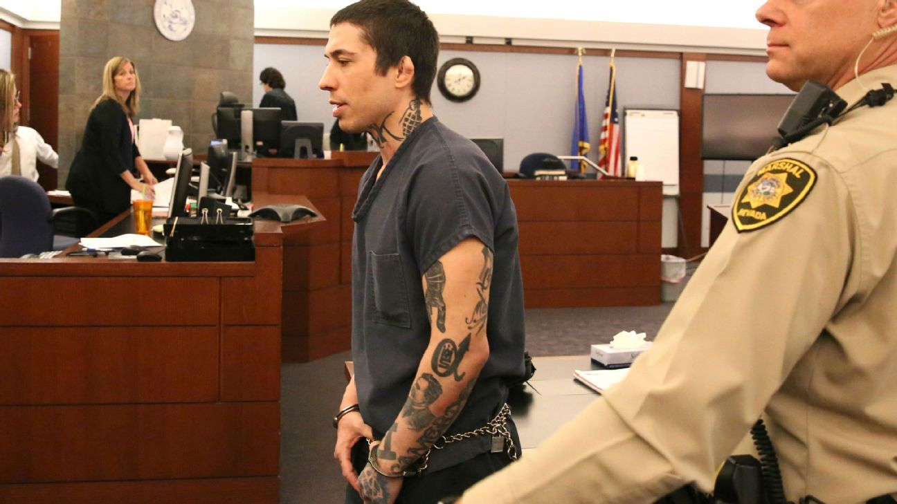 Ex Mma Fighter War Machine Sentenced To Life In Prison Eligible For Parole In 36 Years