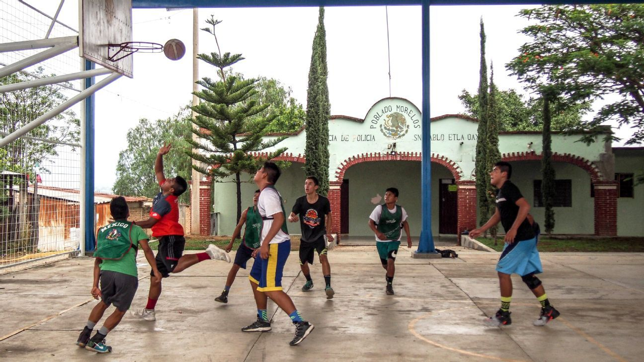 35b4e05963fd Barefoot and beyond - How basketball is opening doors for kids from  Mexico s indigenous Triqui tribe