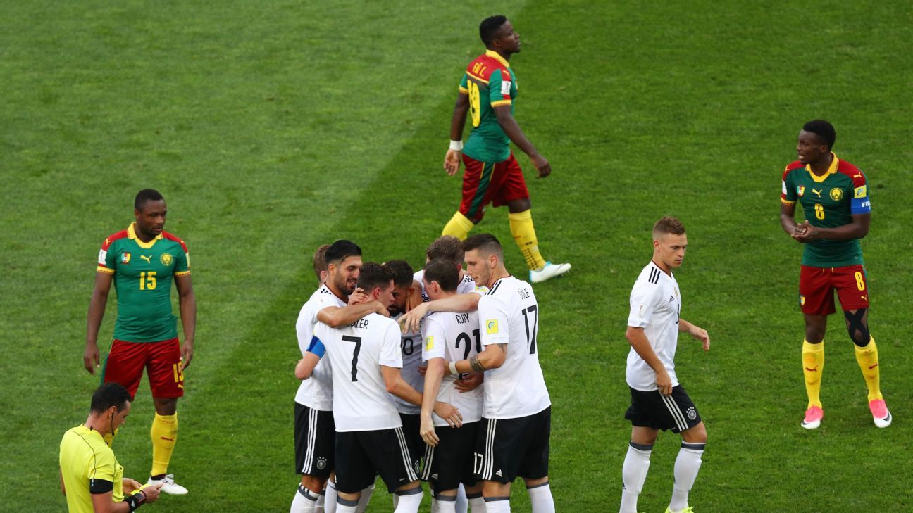 Germany vs. Cameroon - Football Match Report - June 25, 2017 - ESPN