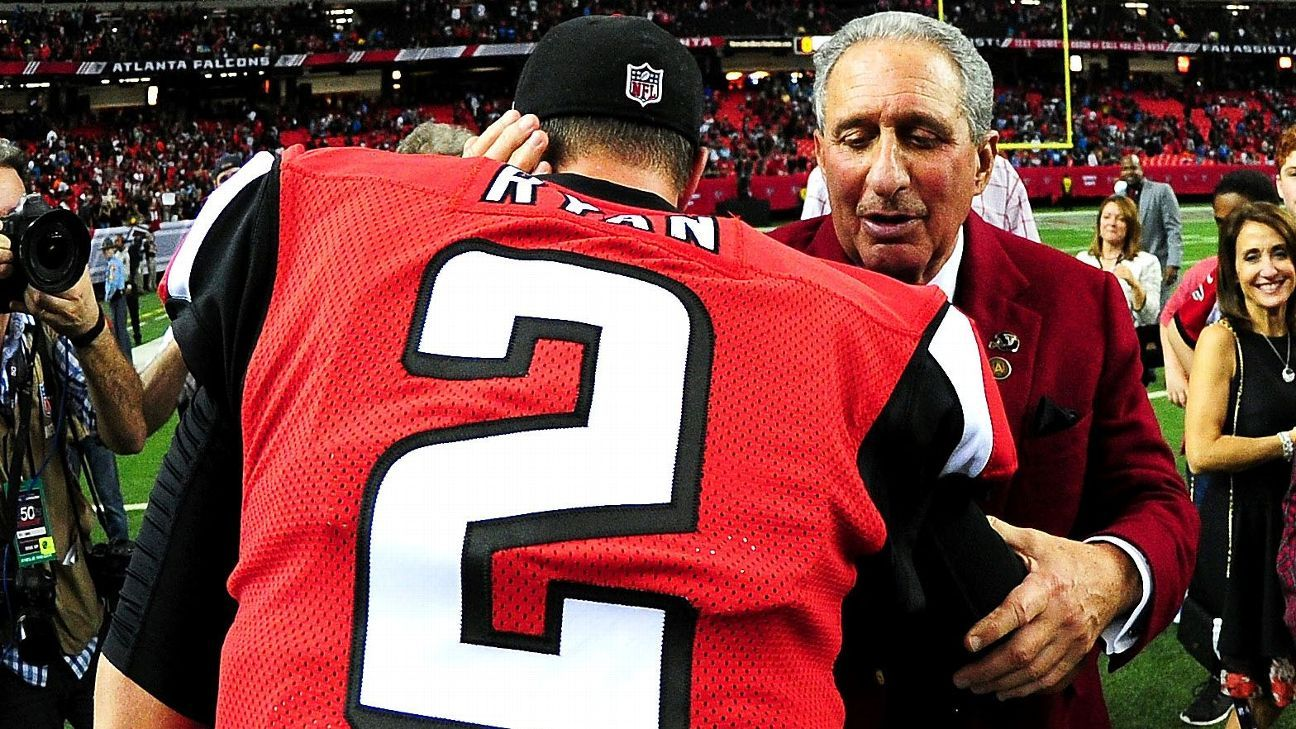 Atlanta Falcons owner Arthur Blank says team will 'have to see' about Matt Ryan's future – ESPN