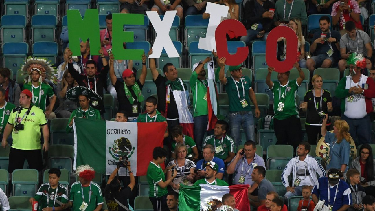 Mexico to help schools if fans stop chant