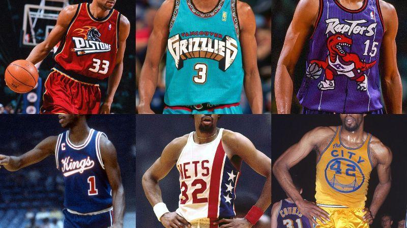Las 30 mejores camisetas clásicas de la NBA 91b463ea9f783