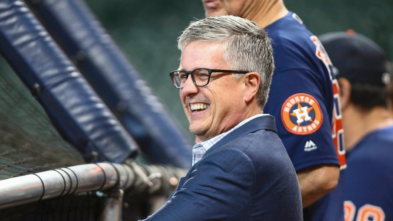 Former GM Jeff Luhnow files lawsuit against Houston Astros after sign-stealing scandal – ESPN