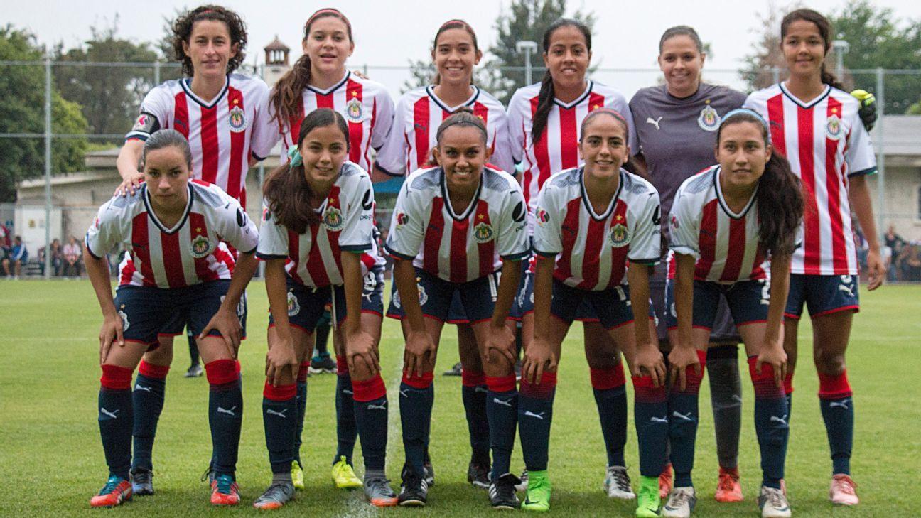 Chivas TV transmitirá a equipo femenil  jugará en Verde Valle f78e925fdd222