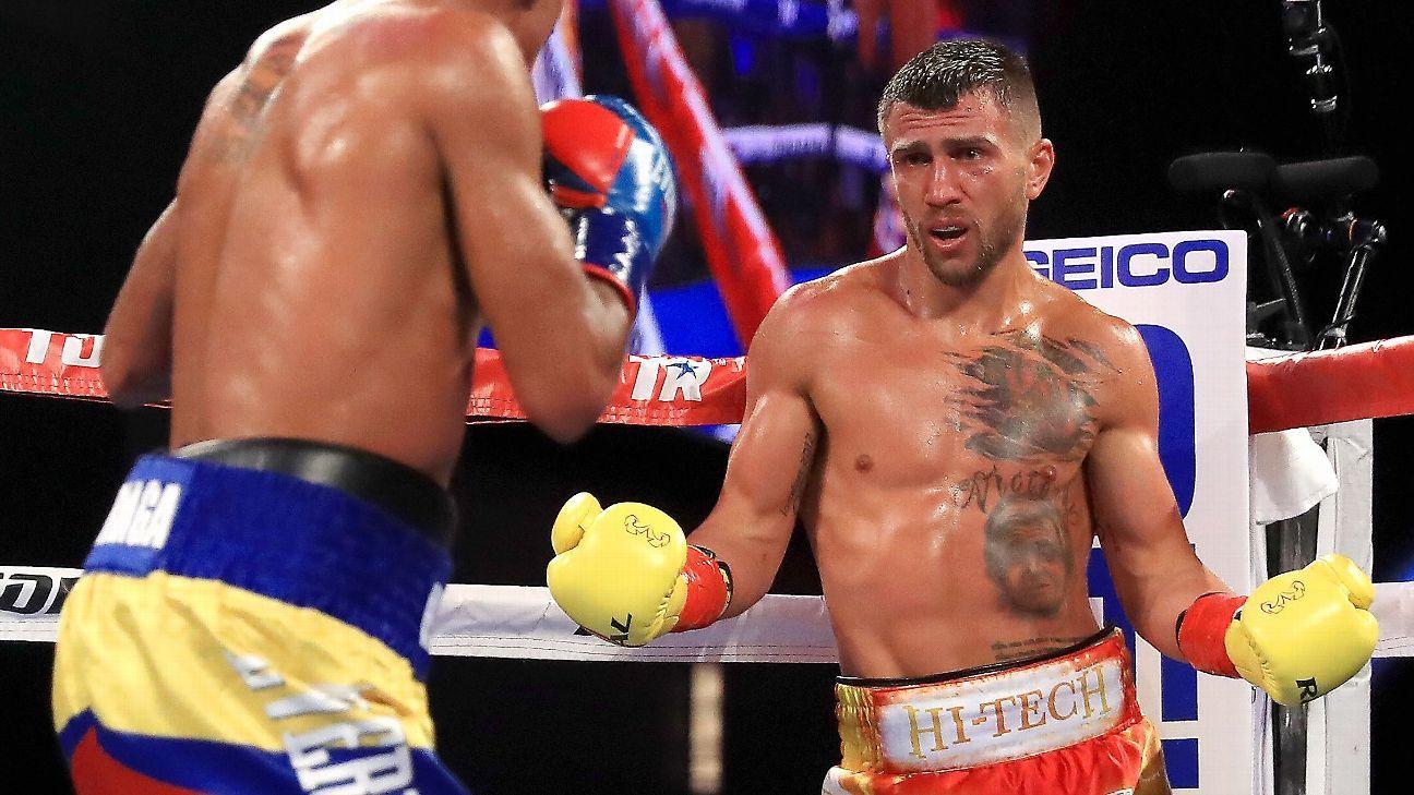 Marriaga  defeats seventh Lomachenko Miguel in TKO Vasyl by