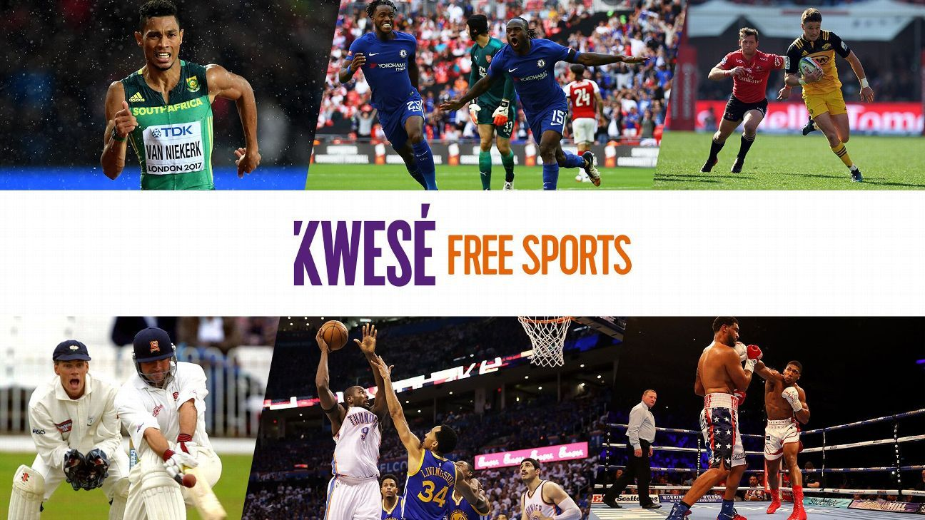 Welcome to Kwesé Free Sports