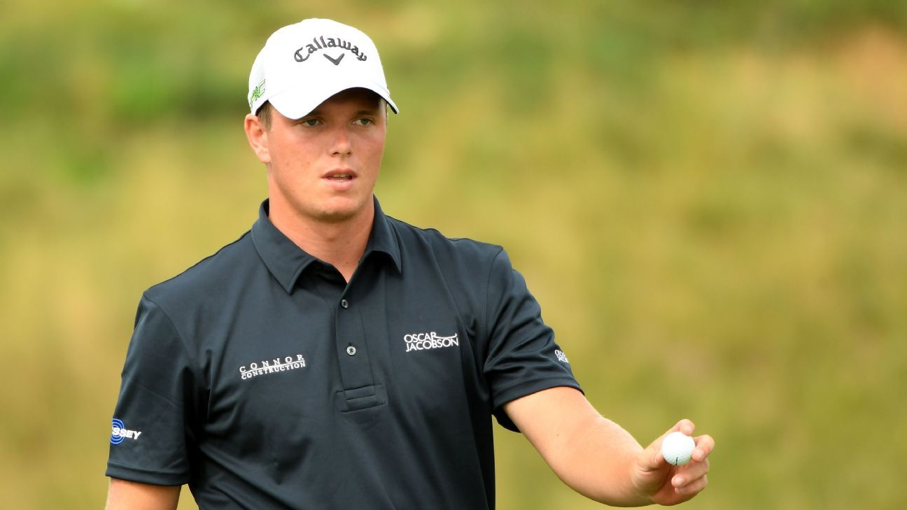 Shinkwin shoots 66 to lead KLM Open after 1st round