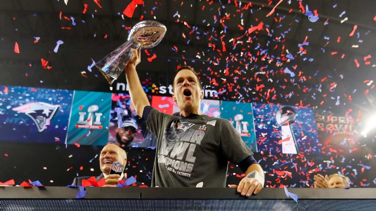 'Why am I nervous??': Tom Brady rewatches Super Bowl LI comeback