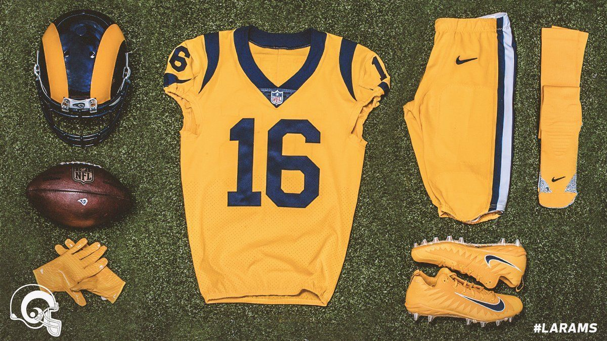 c9e7bc044 Check out the Los Angeles Rams  and San Francisco 49ers  Color Rush uniforms  for Thursday Night Football