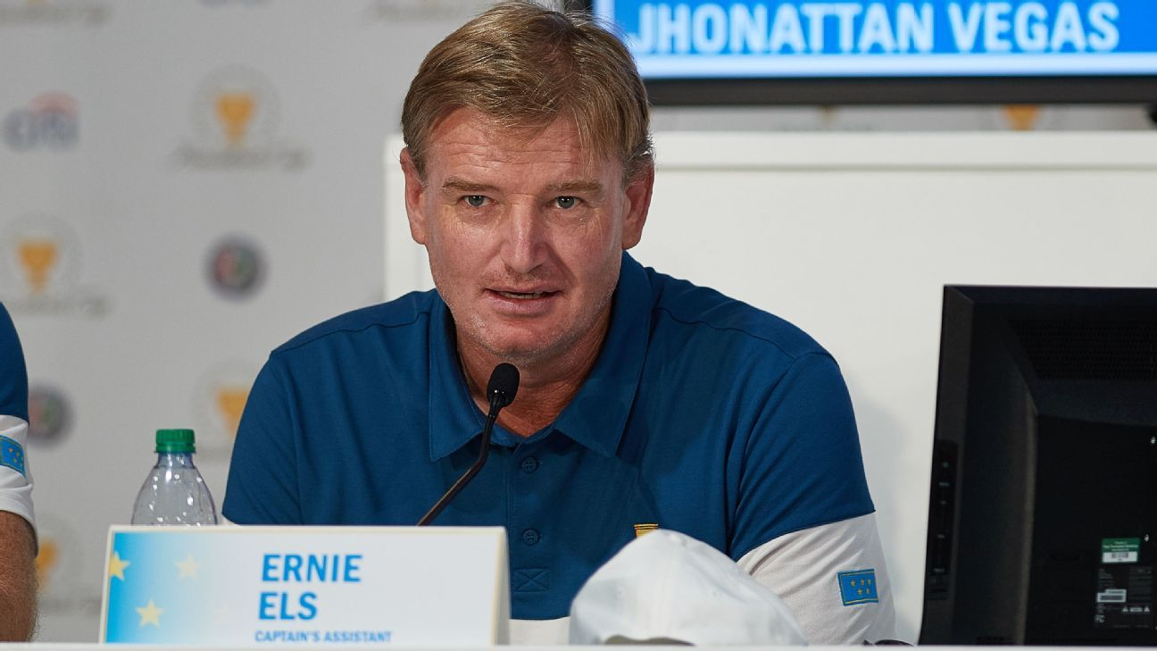 Ernie Els 'loves' idea of new Premier Golf League, recognizes difficulty