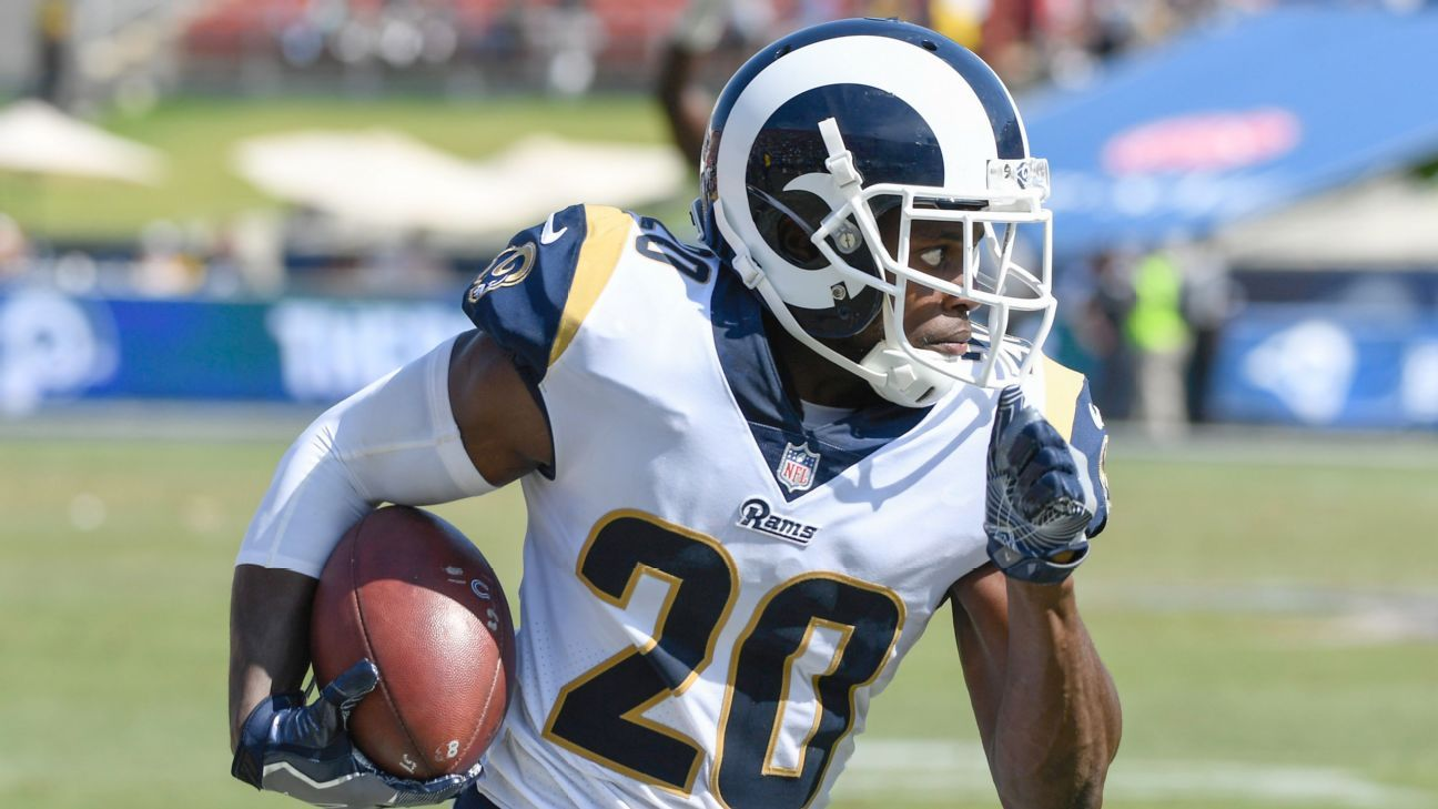 premium selection f4ed2 b24cb Los Angeles Rams place their franchise tag on Lamarcus Joyner