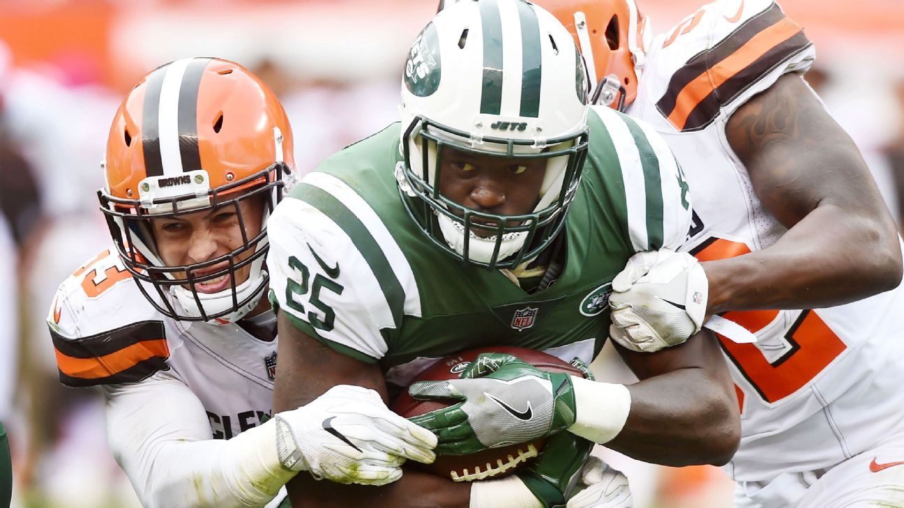 48ca84536fc New York Jets RB Elijah McGuire factures foot, expected to miss 3-6 weeks