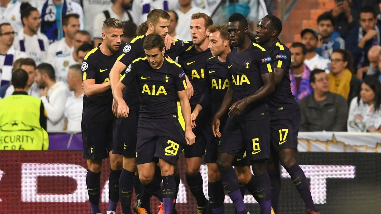 Harry Kane: Spurs happy with a draw at Real Madrid 'every day of the week'