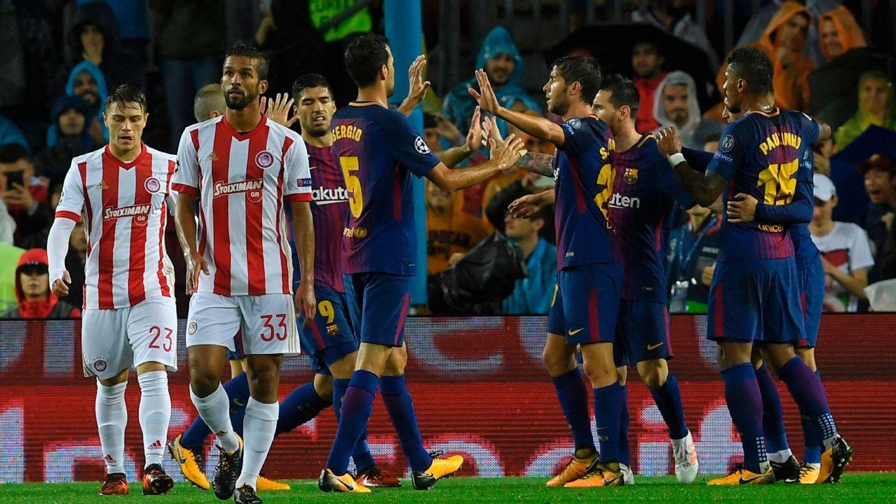 Barcelona Olympiakos