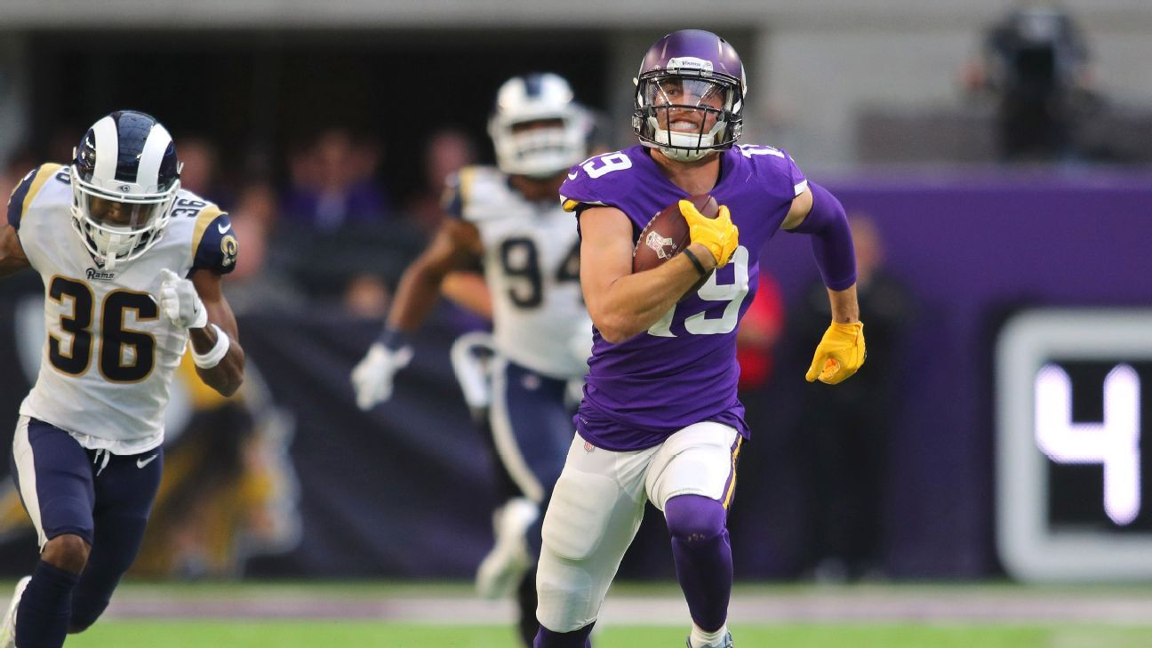 Adam Thielen from idolizing Randy Moss to statistical comparisons -  Minnesota Vikings Blog- ESPN 6410cb233