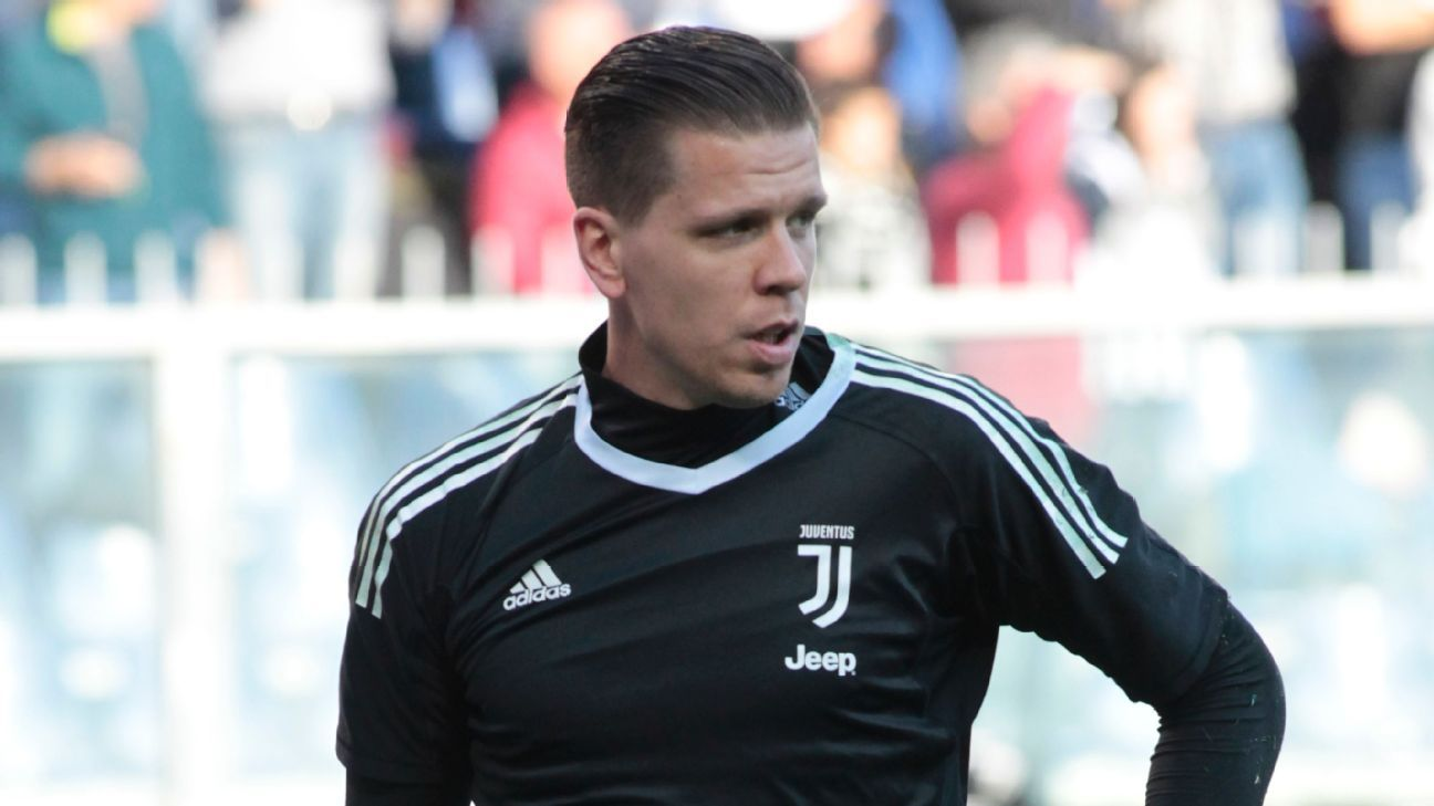 921ee19fe5d Gianluigi Buffon's No 1 at Juventus 'is a heavy shirt to wear' - Wojciech  Szczesny