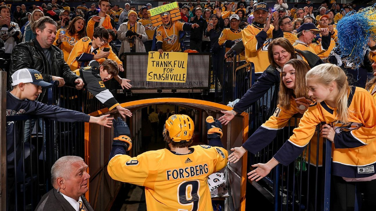c629bbe2284 NHL - Nashville, Vegas, Chicago ... Where's the best place to watch an NHL  game?