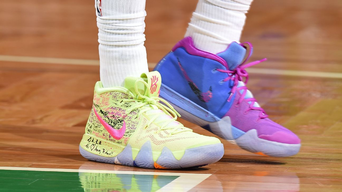 more photos 988a0 b1988 NBA -- Which player had the best sneakers in Week 9?