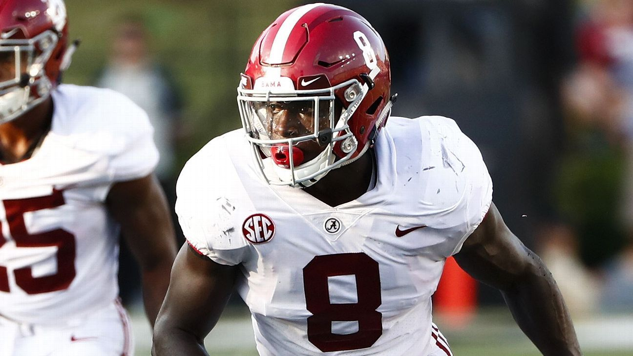 Steele's linebacker corps rankings - Alabama touts another