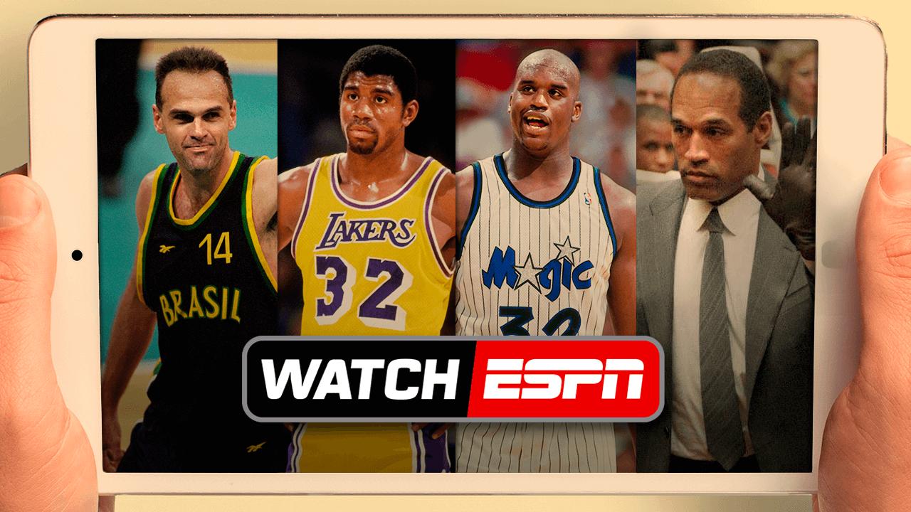 69879fb759b9b WatchESPN: de O.J. Simpson a Celtics/Lakers, ajudamos você a escolher o  melhor conteúdo