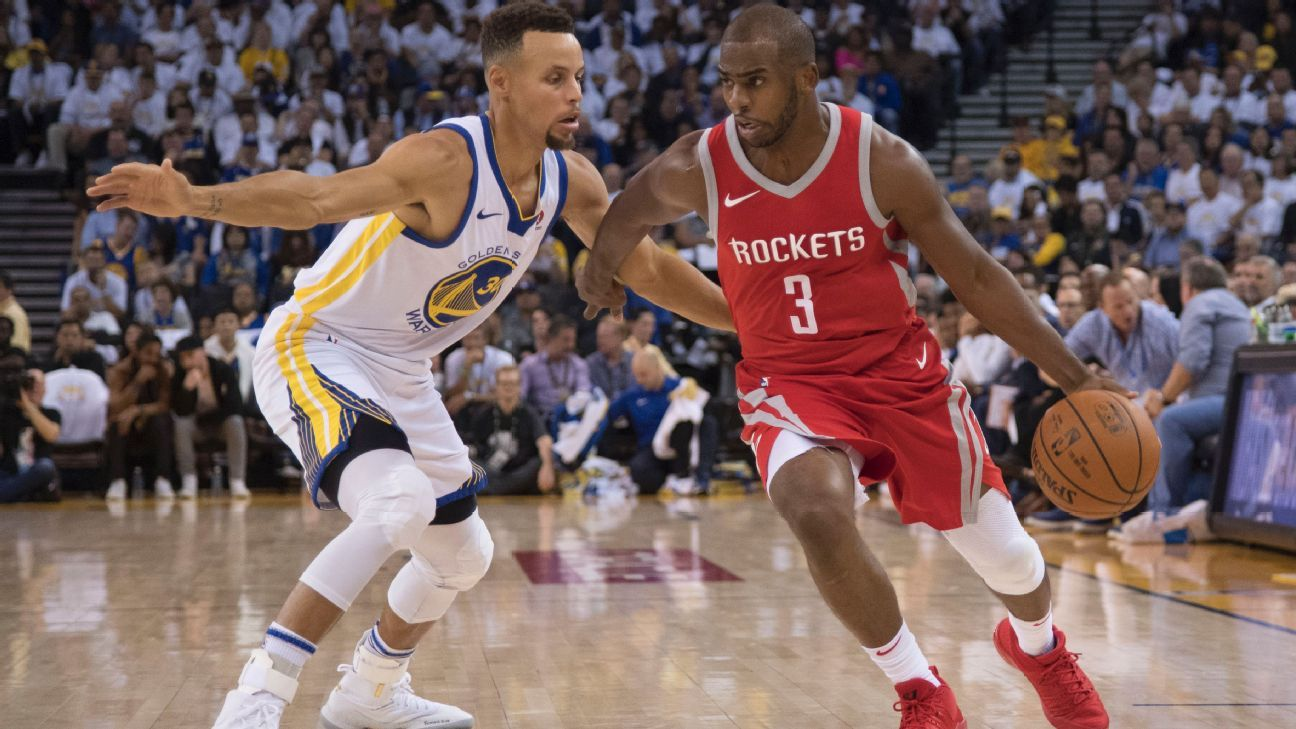 d06cd8d42572 Stephen Curry of Golden State Warriors reflects on Chris Paul --  He was a  great mentor