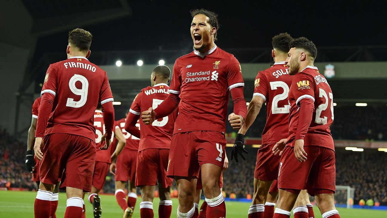 Van Dijk Scores Winner On Liverpool Debut As Reds Beat Everton In FA Cup