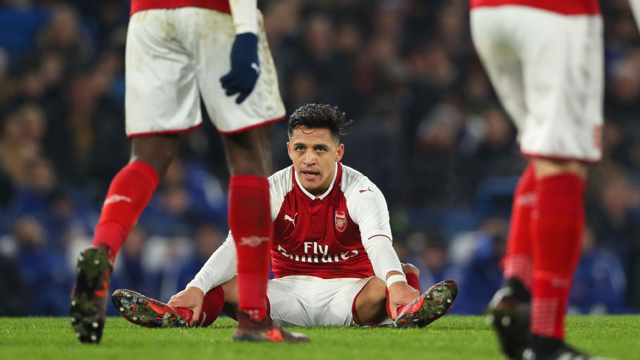 62c2340b5 Arsenal attack all get 5 10 as substitute Sanchez fails to find spark