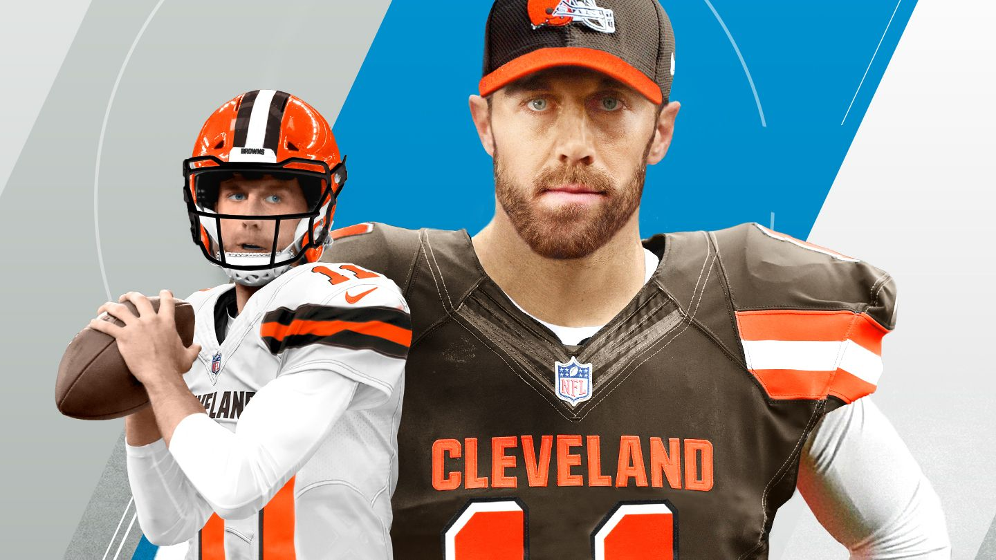 online store 41ed4 ee5d5 Alex Smith provides veteran option for Browns at quarterback ...