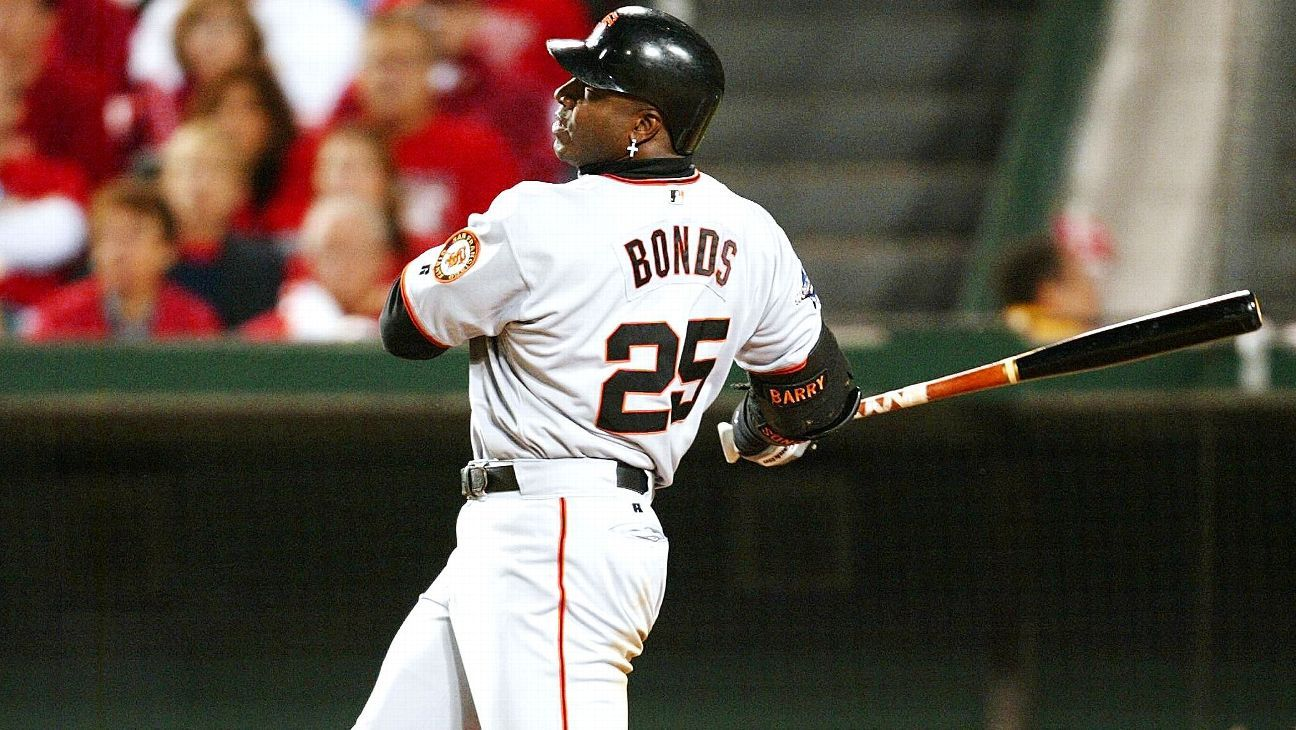 6c3ad0047 San Francisco Giants to retire No. 25 jersey of Barry Bonds in 2018