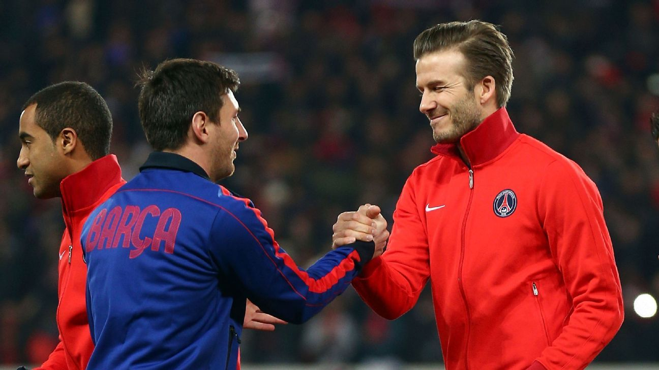 Transfer Talk: Beckham wants to bring Lionel Messi to Miami