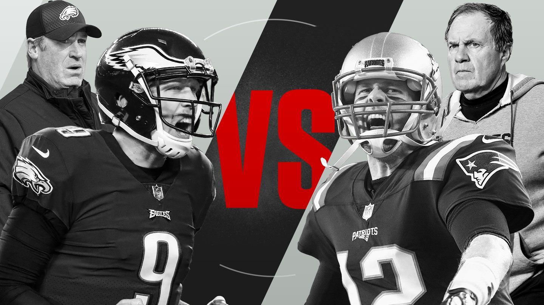fdd3e827 2017 NFL playoffs Super Bowl LII preview - Philadelphia Eagles, New England  Patriots