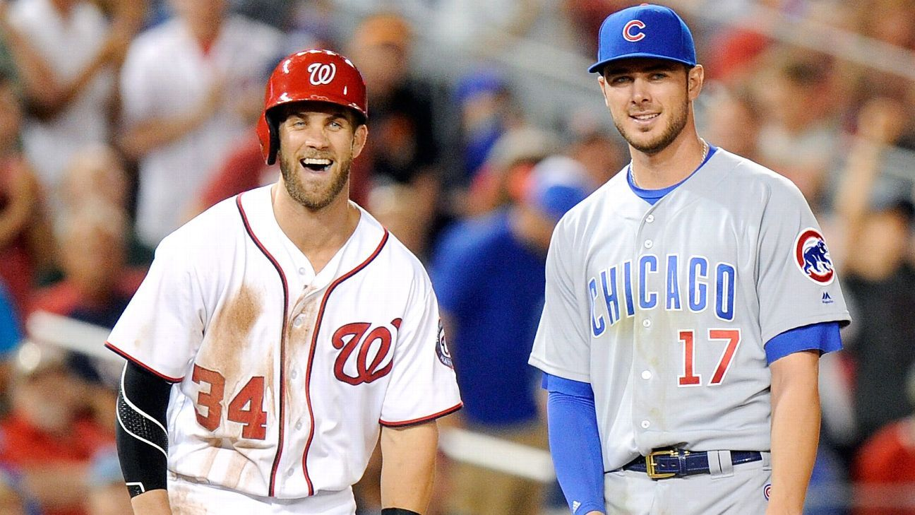 Kris Bryant of Chicago Cubs frustrated for unsigned Bryce Harper, Manny Machado