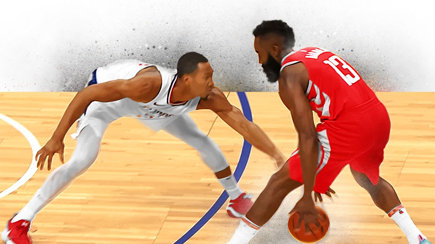 2f90a1697eb1 A tiny oral history of Houston Rockets James Harden s crossover against Los  Angeles Clippers