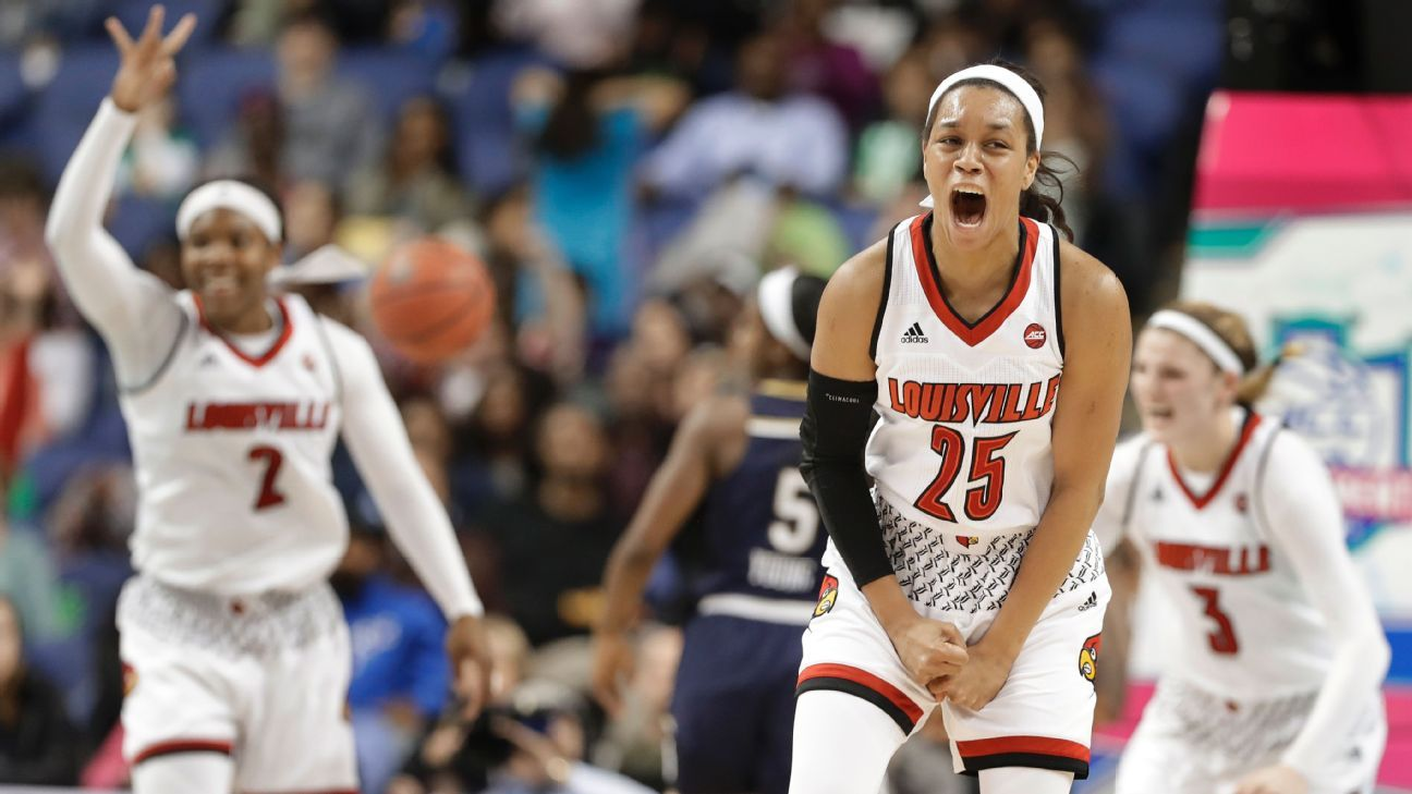 Asia Durr looks to lift Louisville Cardinals back to the Final Four