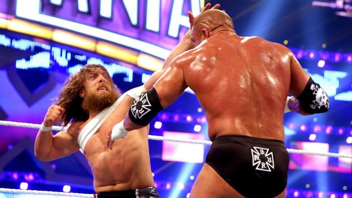WrestleMania 34 - Paul 'Triple H' Levesque reacts to Daniel