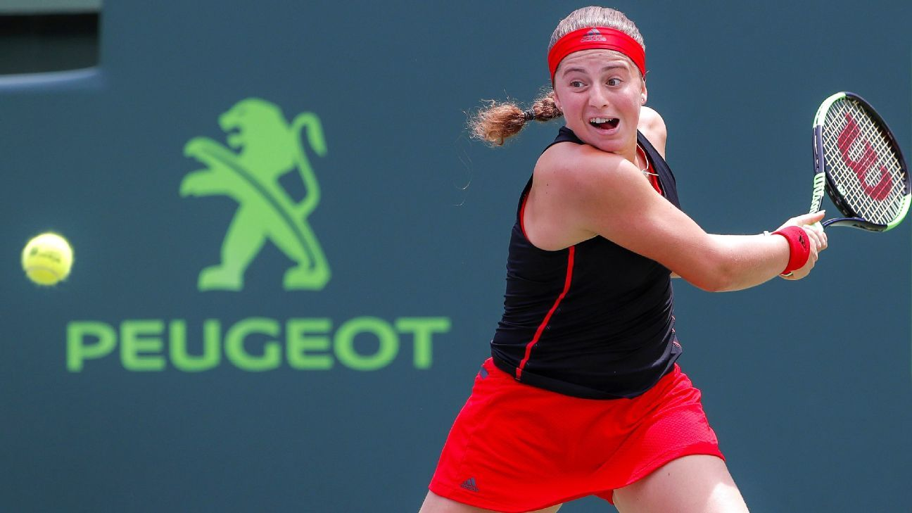 Jelena Ostapenko tops Julia Goerges to win Luxembourg title