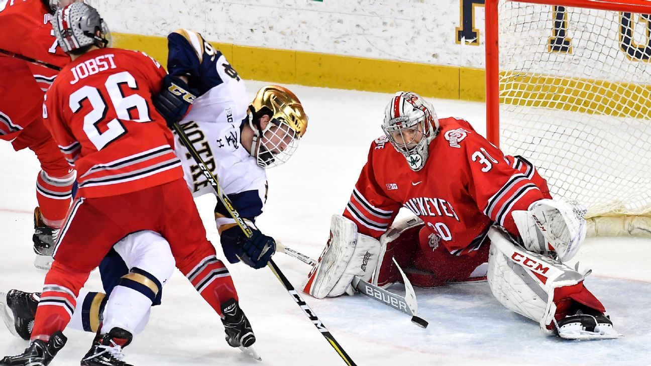 College Hockey Previewing The 2018 Frozen Four S Players To Watch