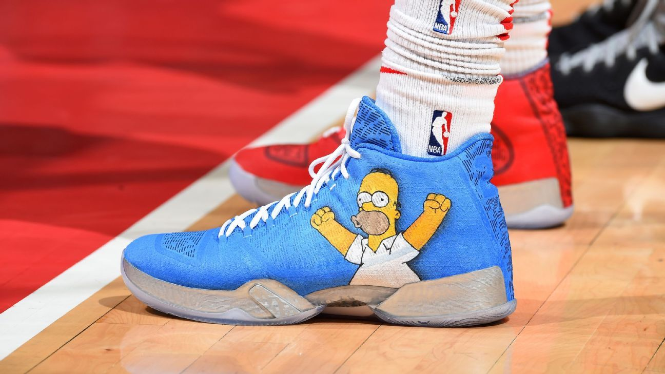 Which NBA player had the best sneakers in Week 25?