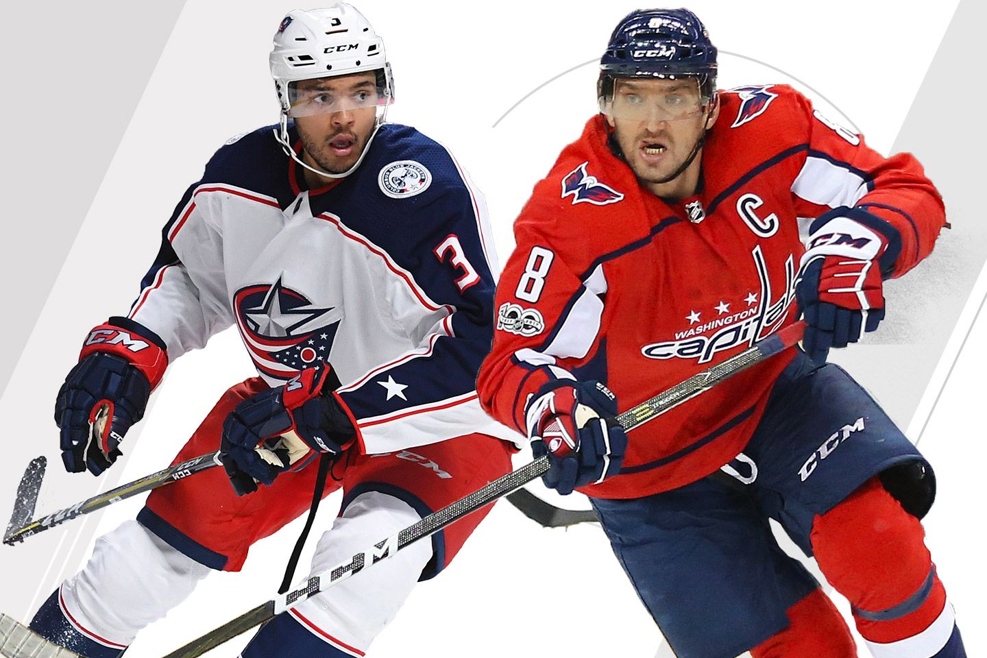 1bcd24c26aa 2018 Stanley Cup Playoffs - Washington Capitals vs. Columbus Blue ...