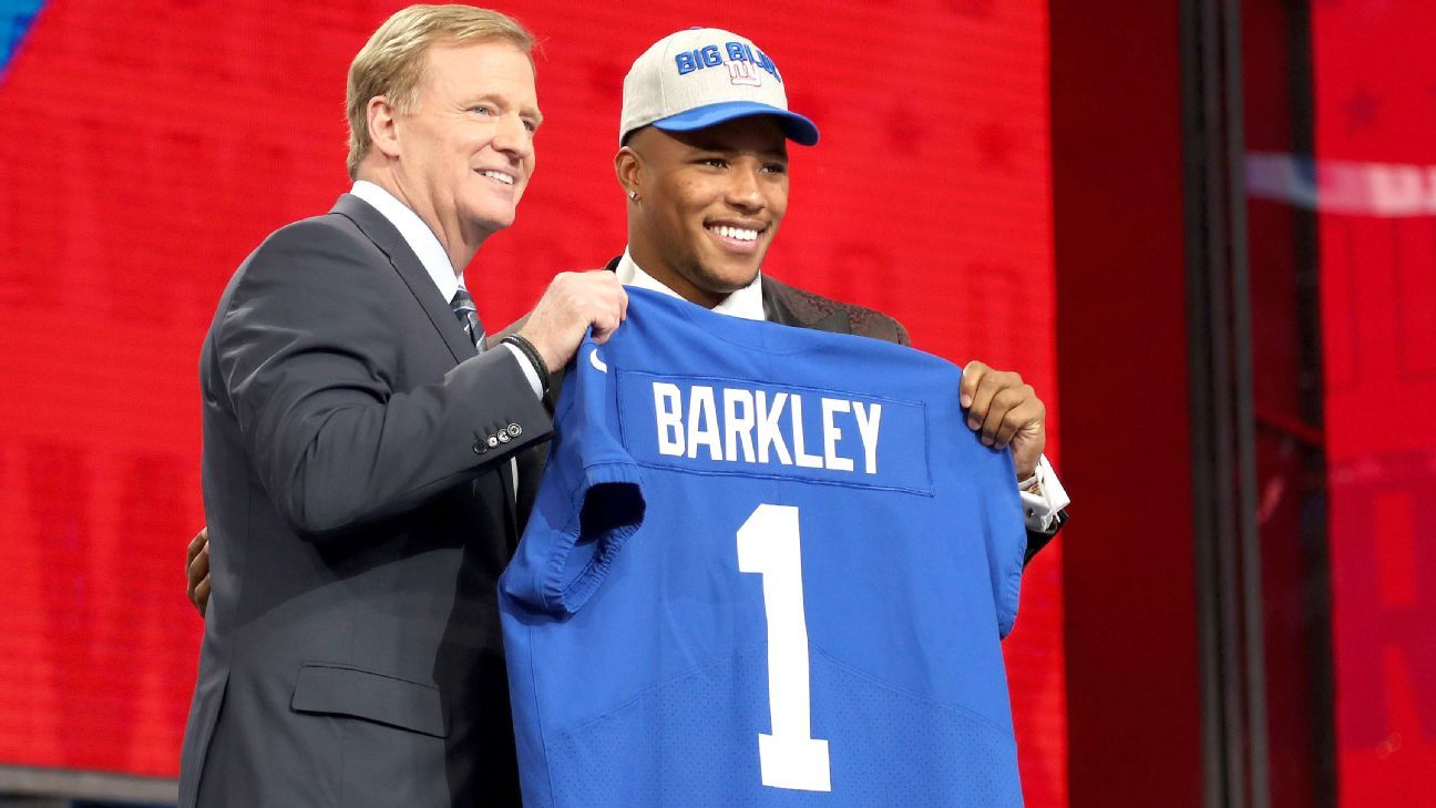 fa0a0066b New York Giants  2018 draft  Analysis for every selection - New York Giants  Blog- ESPN