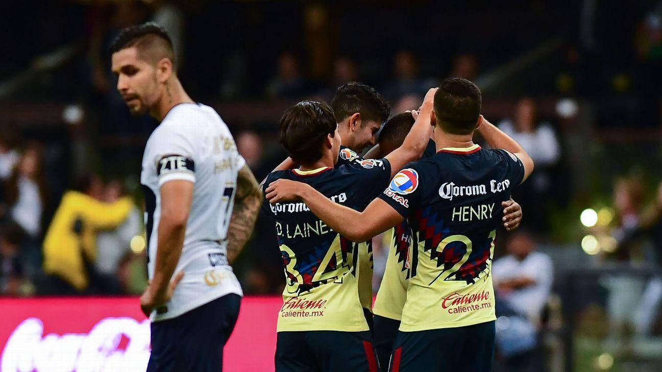 f6e697c0316 Club America book Liga MX Clausura semi spot at Pumas' expense