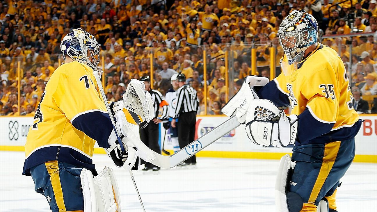 72ef07467 NHL - Ranking all 31 teams by goaltending