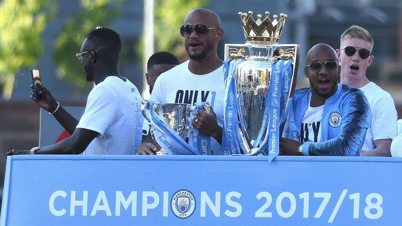 Manchester City U0026 39 S Premier League Title Parade Draws Around