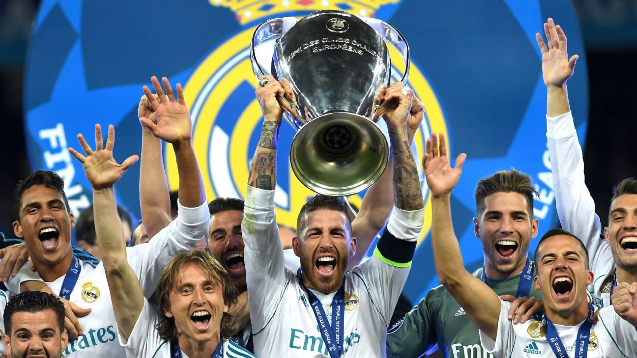 Real Madrid's third straight Champions League title ...