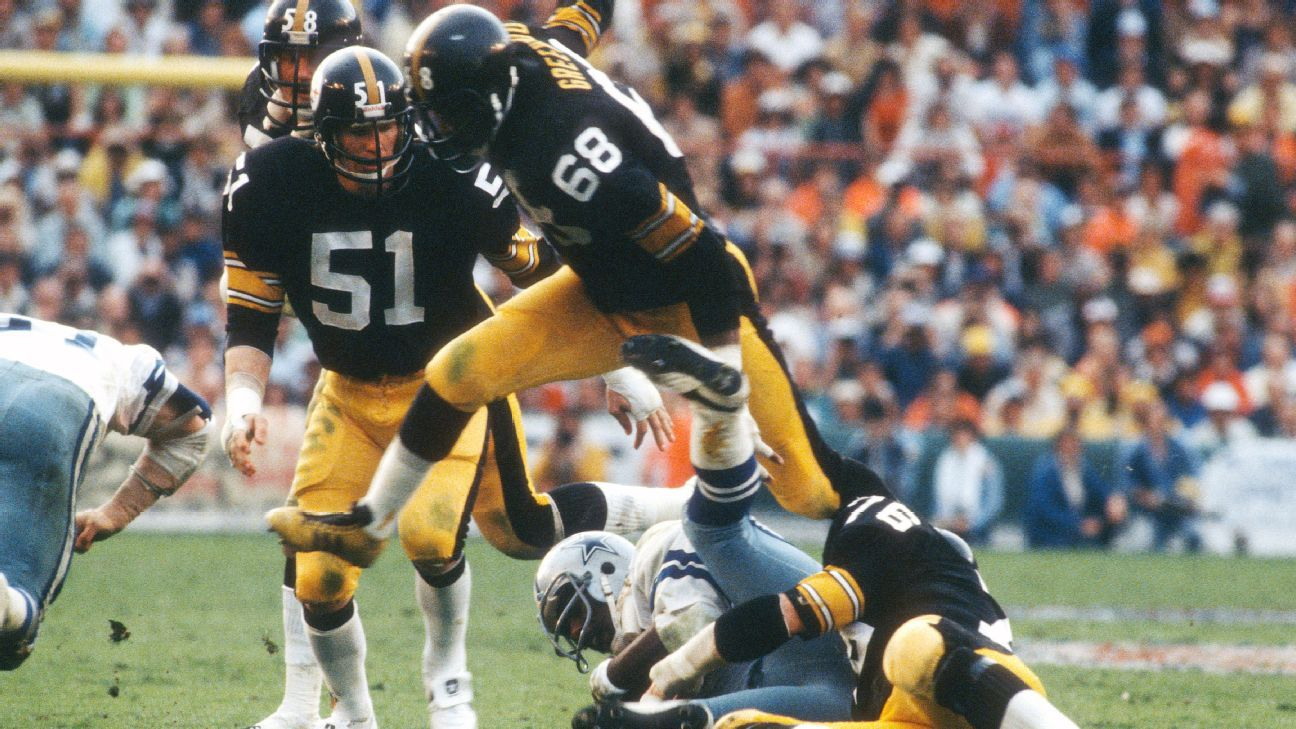 official photos a77bb e4782 Pittsburgh Steelers honor Super Bowl XIII champions with fan ...