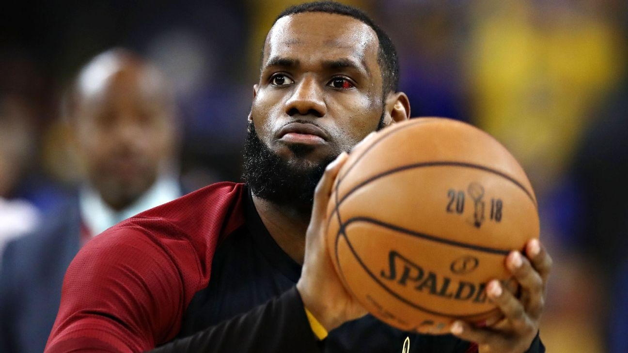 fb23062e769 LeBron James of Cleveland Cavaliers to appear on cover of NBA 2K video game