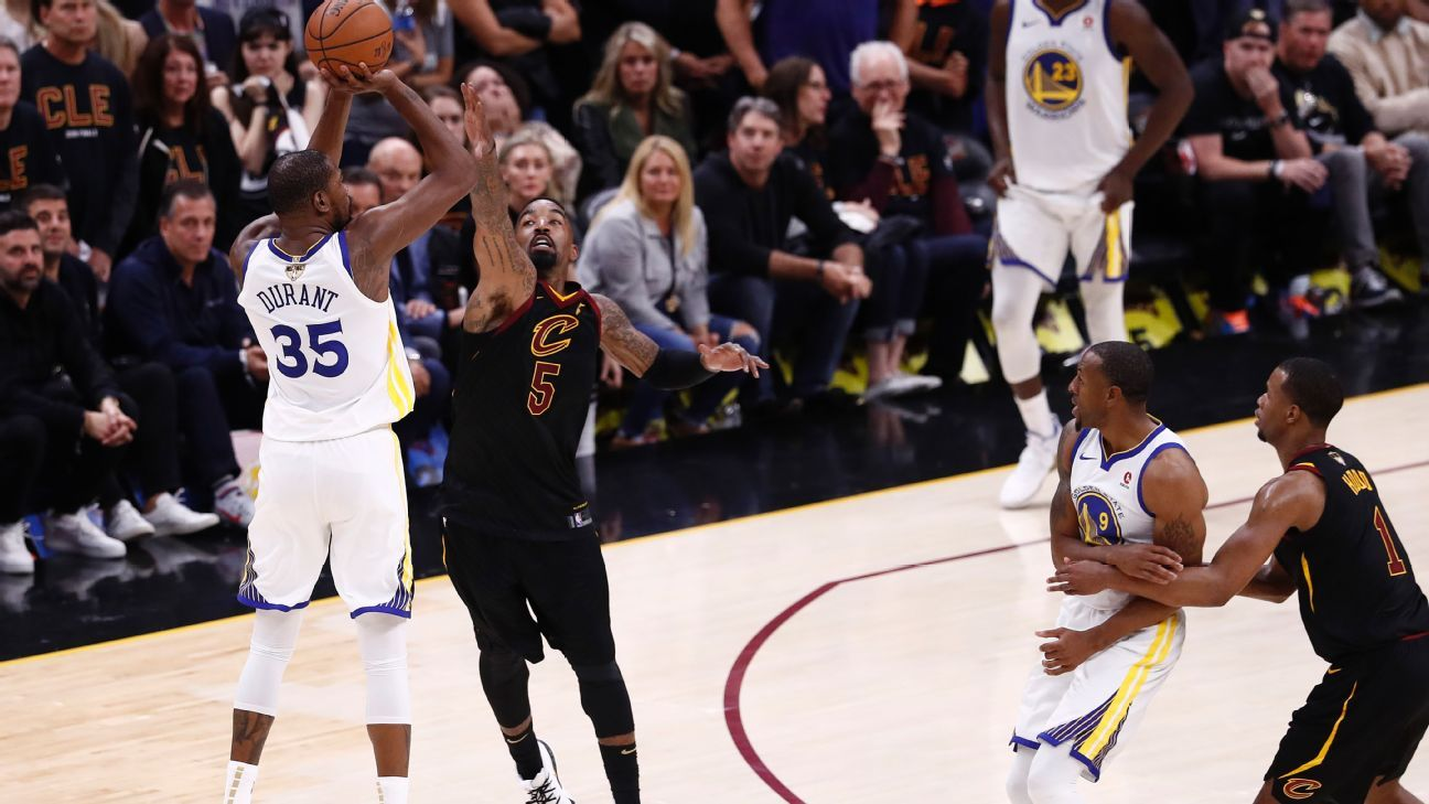 1cafb9f6d07b  Assassin  Kevin Durant explodes for 43 points to lead Golden State  Warriors to 3-0 Finals lead over Cleveland Cavaliers