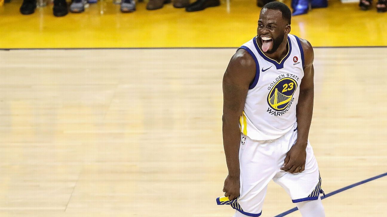158ab3a211ad Draymond Green trolls LeBron James with T-shirt at Golden State Warriors  championship parade